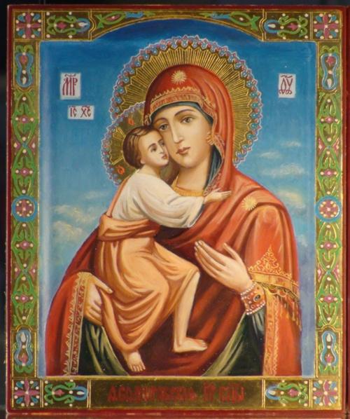 икона Федоровская Пресвятая Богородица