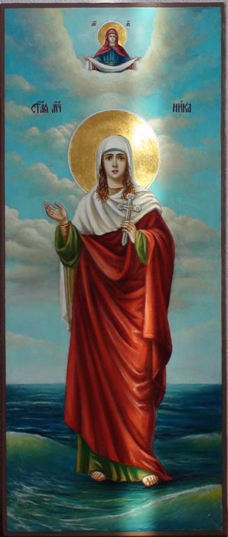 мерная икона Святая мученица Ника